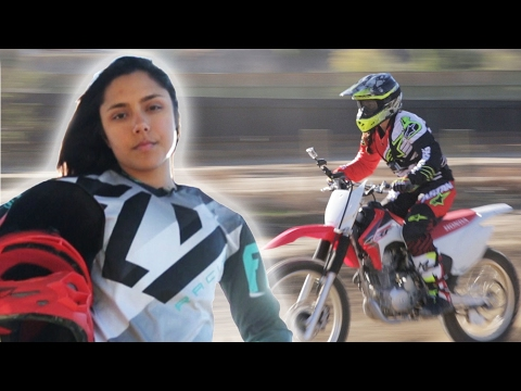 Women Race Dirt Bikes For The First Time