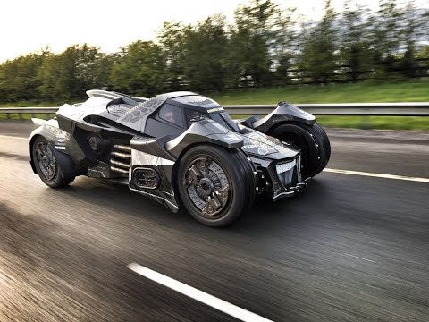Cheap Cars For Sale >> Arkham Knight Batmobile with Lambo V10 Races at 2016 ...