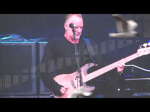 Sting -Message In a Bottle ( 13.6.2019 Live in Helsinki )
