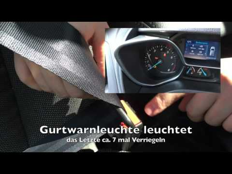 Ford Tourneo Connect (2015) Gurtwarner de/aktivieren