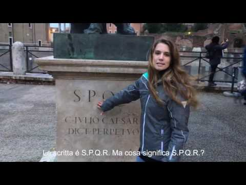 Rome fun fact! What is S.P.Q.R.?
