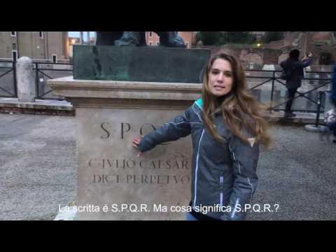 Rome fun fact! What is S.P.Q.R.?