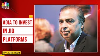 Abu Dhabi Investment Authority To Invest Rs 5,684 Crore In Jio Platforms For 1.16% Stake | CNBC TV18 - Download this Video in MP3, M4A, WEBM, MP4, 3GP
