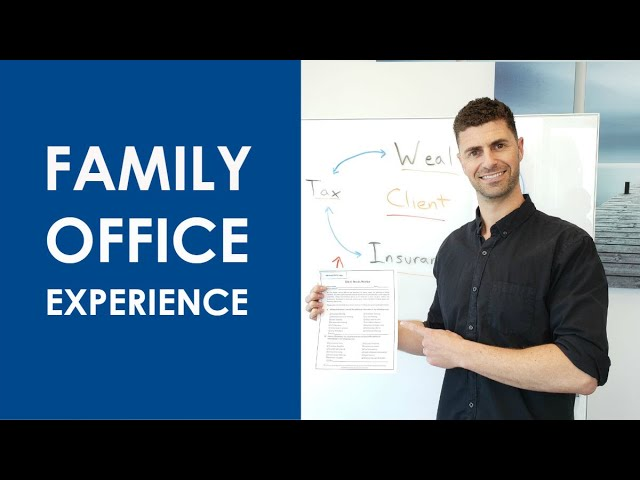 Family Office Experience