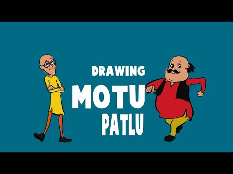 How To Draw Motu From Motu Patlu Step By Step Art For Kids