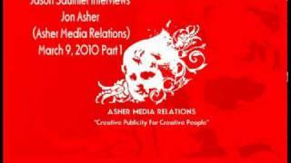 Asher Media Relations Interview | Jon Asher