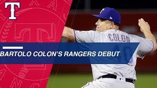 Bartolo makes a historic debut for the Rangers