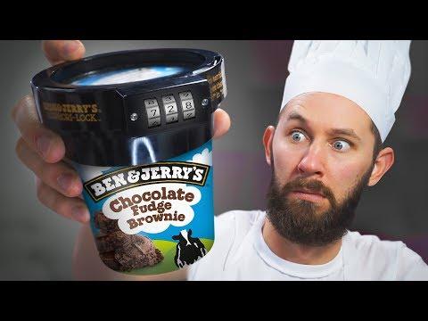 Anti-Theft Ice Cream Lock! | 10 Strange Cooking Products