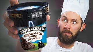 Anti-Theft Ice Cream Lock! | 10 Strange Cooking Products