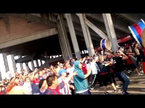 """Entrada de la Butteler vs Banfield"" Barra: La Gloriosa Butteler • Club: San Lorenzo"