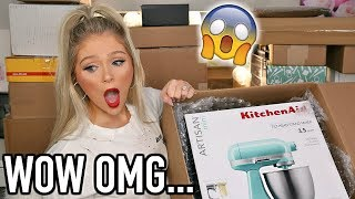 HUGE PR UNBOXING HAUL | SO MUCH NEW FREE MAKEUP