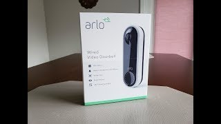 New Arlo VIDEO Doorbell Quick Review with Sample Videos