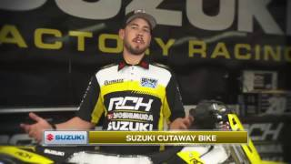 Suzuki Cutaway Bike: Holeshot Device