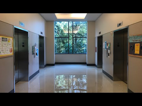 Kone MonoSpace Elevators at Oakland Hall, University of Maryland, College Park, MD
