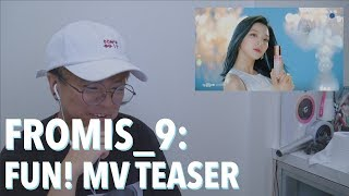 [FS:REACT] fromis_9 (프로미스나인) - 'FUN!' MV Teaser 1