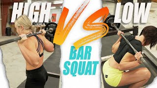 HIGH VS. LOW BAR SQUAT (Which Is Better?)