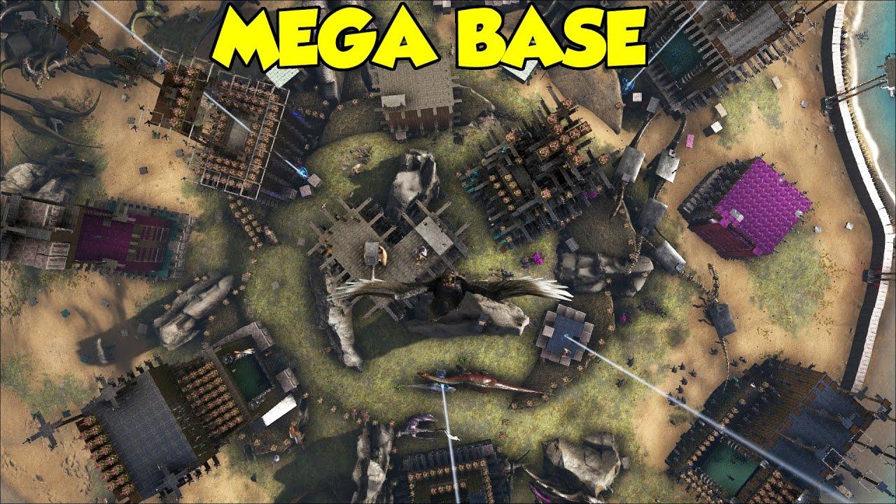 07:02 MEGA BASE OFFICIAL 1 Ark Survival Evolved