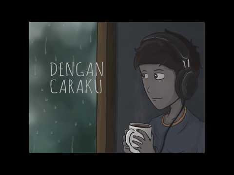 , title : 'Arsy Widianto, Brisia Jodie - Dengan Caraku Animasi Lirik (acoustic cover by eclat)'