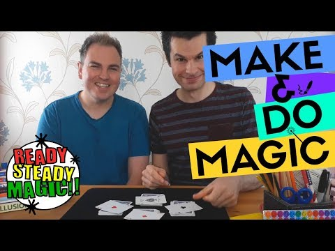 Easy Cutting to the Aces | Make & Do Magic | Ready Steady Magic