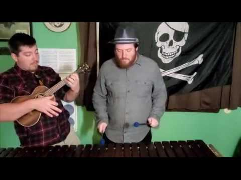 A clip of He's a Pirate from Pirates of the Caribbean from my band Marimba and the Uke.