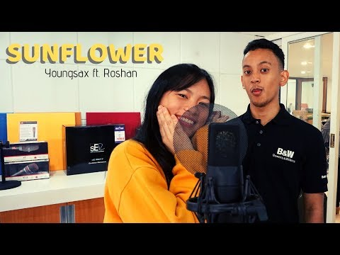 Sunflower(Cover) Youngsax ft. Roshan