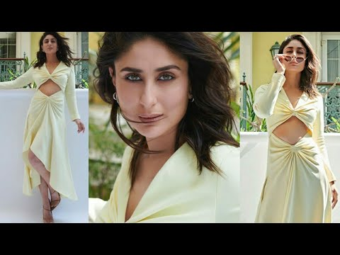 Kareena Kapoor Khan Stuns In Yellow Dress For GOOD NEWWZ Trailer Launch | Kareena Kapoor Khan