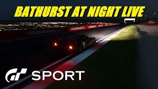 GT Sport Bathurst In The Dark - Live
