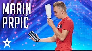 Charismatic Marin Prpić has the best day of his life!│Supertalent 2018│Auditions