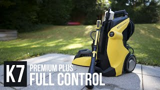 Kärcher Hochdruckreiniger im Check: K7 Premium Full Control Plus Home - SO stark sind 180 BAR !