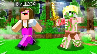How to PRANK Girl1234 as a MOB! (Minecraft)