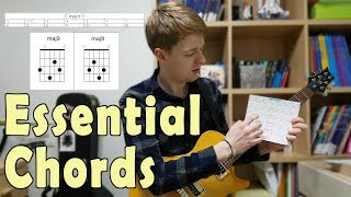 5 Essential Chords For Math Rock, Midwest Emo, Post Rock In Standard Tuning
