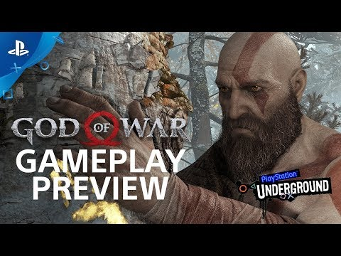 God of War: 15 Minutes of Gameplay - PS4 Gameplay Walkthrough | PS Underground thumbnail