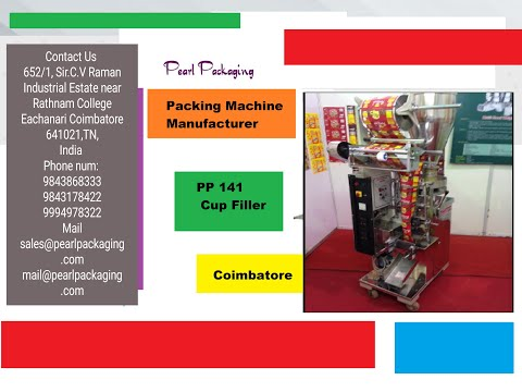 Pouch Packaging Machines