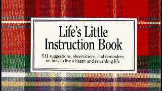 Life's Little Instruction Book How to live a happy and rewarding life - audio book
