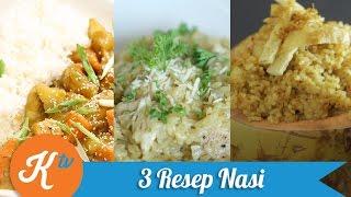 3 Resep Variasi Masakan dengan Beras (Nasi)
