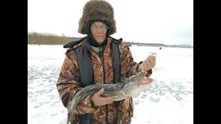Зимняя рыбалка недалеко от уфы