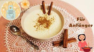Cremigen türkischen Milchreis für Anfänger