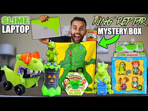 Someone Sent Me A GIANT REPTAR MYSTERY BAG! Filled With ONLY NICKELODEON SLIME AND REPTAR PRODUCTS!!
