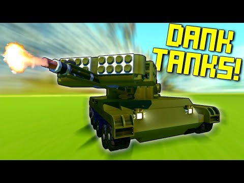 These Tanks Definitely Should Have NEVER Existed... - Scrap Mechanic Workshop Hunters