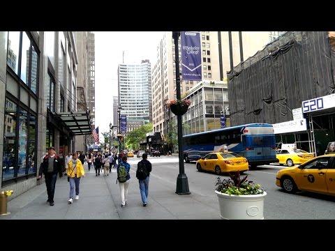 Америка Нью Йорк Путешествия Туризм Авенью New York Avenue USA Америка США