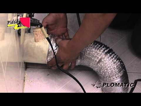 Cómo instalar el Ducto para Salida de Secadora