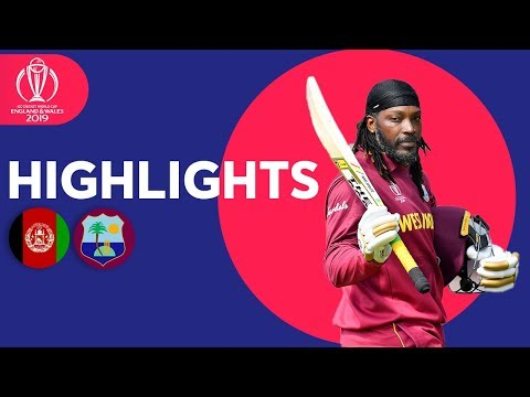 Afghanistan vs West Indies Match Highlights ICC Cricket World Cup 2019