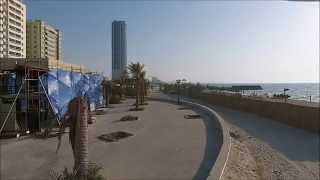 preview picture of video 'Phantom 2 Vision+ on Ajman Corniche'