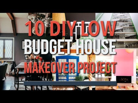 10 DIY Low Budget Projects to Makeover Your House