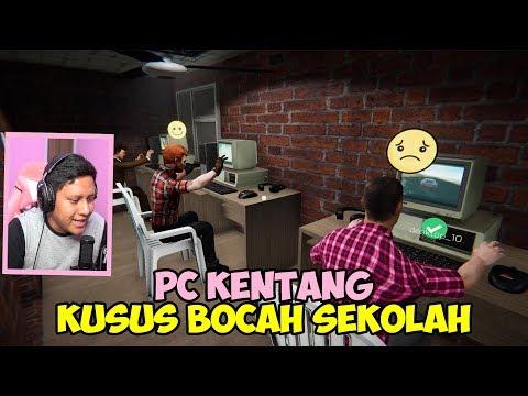 BUKA RUANGAN PC KENTANG BARU KUSUS BOCAH SEKOLAH - Internet Cafe Simulator #5