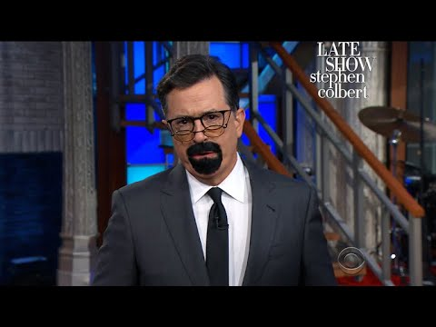 Stephen Colbert Becomes Steven Seagal