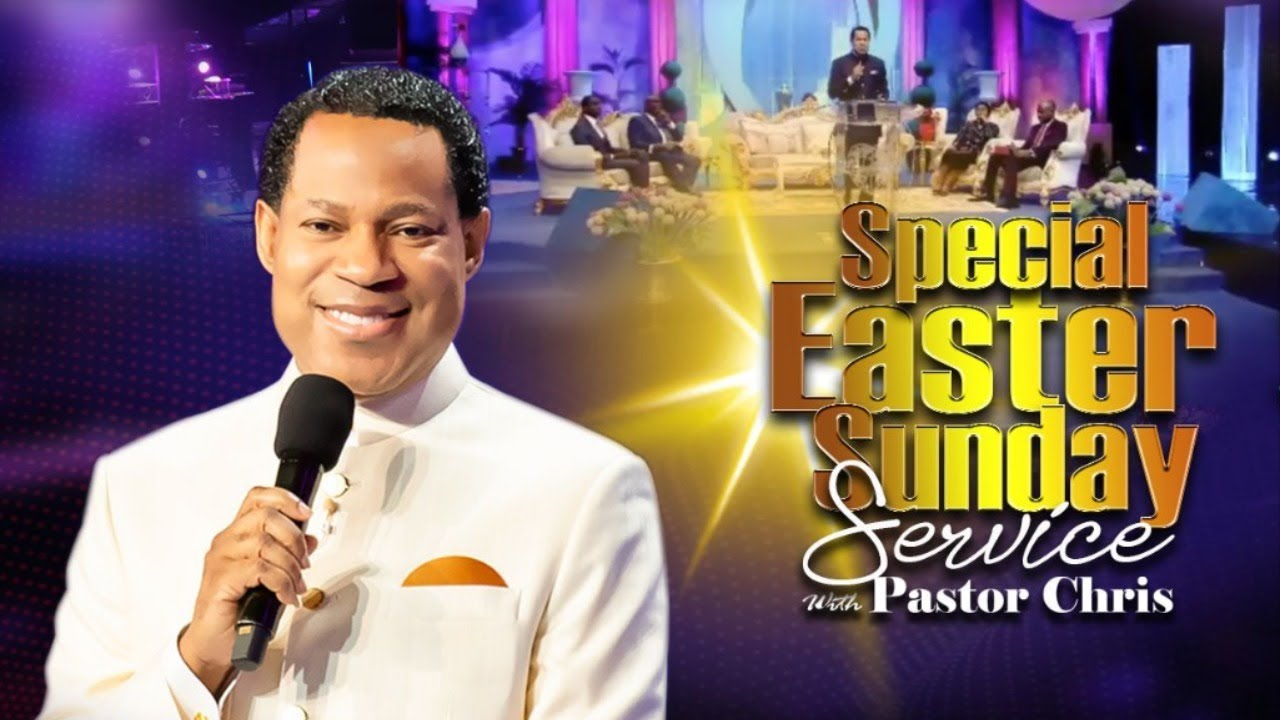 Watch Live Special Easter Sunday Service 12th April 2020 with Pastor Chris Oyakhilome