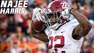 Scariest RB In College Football | Najee Harris Alabama Highlights ᴴᴰ