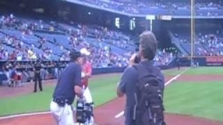 Jeff Hall Hitting At Atlanta Braves Stadium Long Haul Bombers