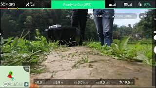Dji phantom 3 advaced test terbang batre 2 bagian A